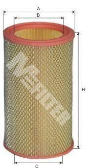 Воздушный фильтр MFILTER A 107