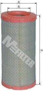 Воздушный фильтр MFILTER A 1073