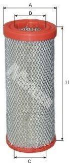 Воздушный фильтр MFILTER A 1076