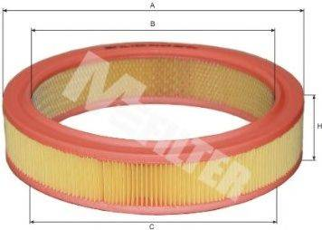 Воздушный фильтр MFILTER A 123