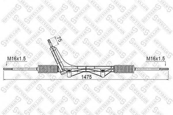 Рулевой механизм STELLOX 00-35014-SX
