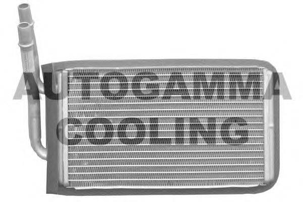 Теплообменник, отопление салона AUTOGAMMA 102442
