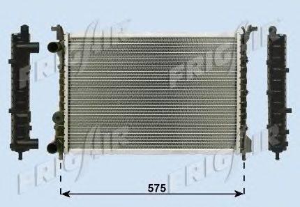 Радиатор, охлаждение двигателя FRIGAIR 0104.3046