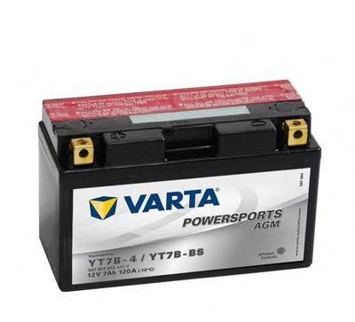 Стартерная аккумуляторная батарея; Стартерная аккумуляторная батарея VARTA 507901012A514
