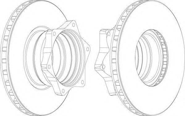 FERODO (НОМЕР: FCR165A) Тормозной диск