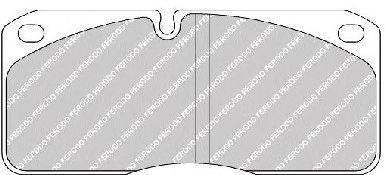 FERODO (НОМЕР: FCV733) Комплект тормозных колодок, дисковый тормоз