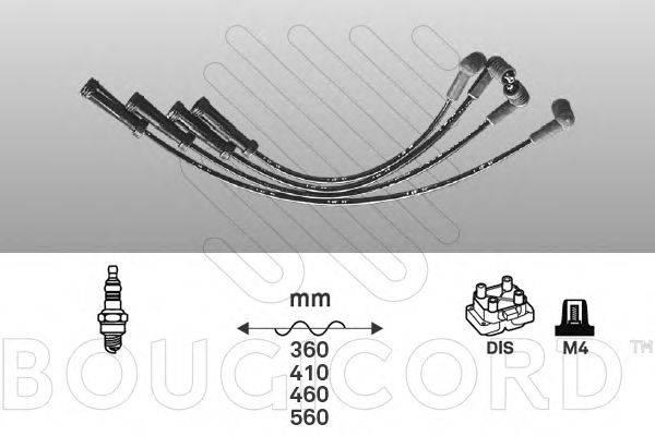 Комплект проводов зажигания BOUGICORD 1429