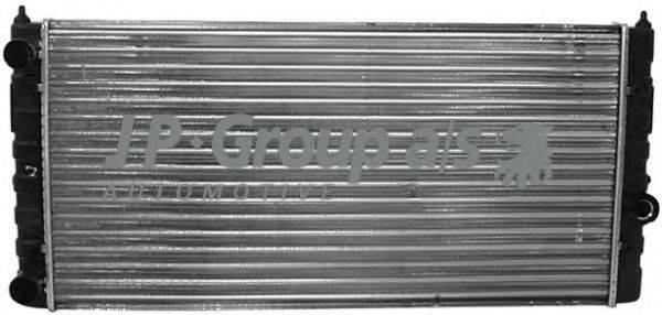 Радиатор, охлаждение двигателя JP GROUP 1114203000