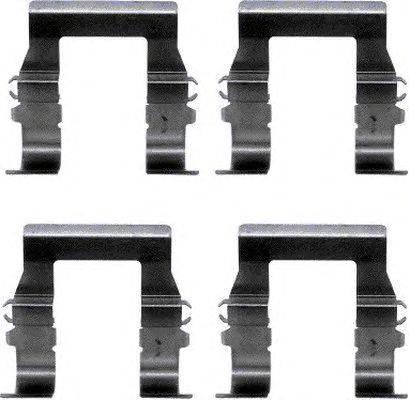 Комплектующие, колодки дискового тормоза MINTEX MBA1194