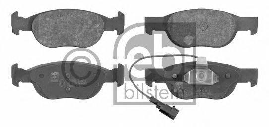 FEBI BILSTEIN (НОМЕР: 16089) Комплект тормозных колодок, дисковый тормоз
