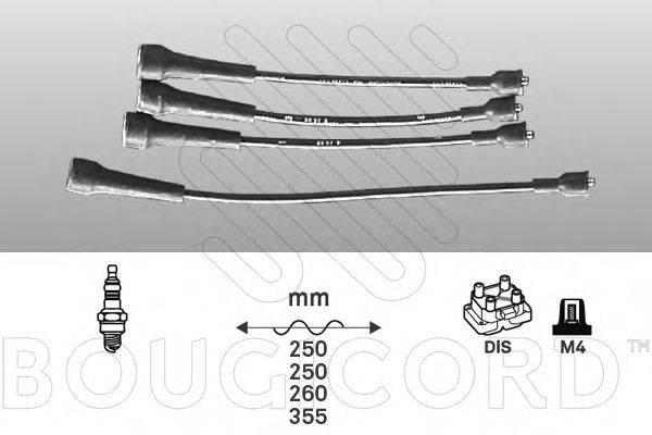 Комплект проводов зажигания BOUGICORD 1431