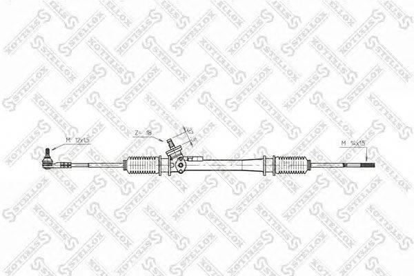 Рулевой механизм STELLOX 00-35025-SX