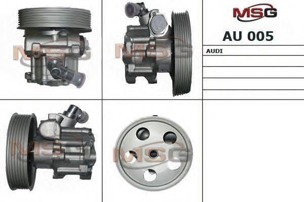 Гидравлический насос, рулевое управление MSG AU 005